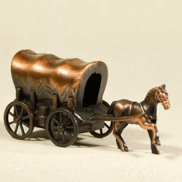 Αμαξα με αλογο μινιατούρα